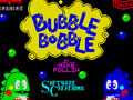 Bubble Bobble Spectrum