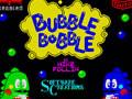 Bubble Bobble Spectrum