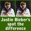 Justin Bieber Busca las Diferencias