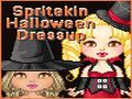 Vestir muñecas de Halloween