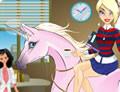 Unicornio en la oficina