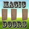 Las tres puertas magicas. El juego de los trileros.