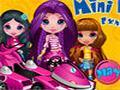 Chicas en Mini Kart