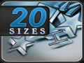20 tamaños - Prueba Visual