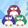 Pingüinos coloridos