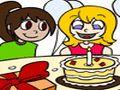 Feliz cumpleaños para colorear