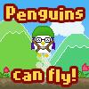 ¡Los pingüinos pueden volar!
