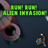 ¡Correr! ¡Correr! ¡Invasión alienígena!
