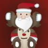 Papá Noel regalo rush