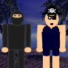 Ninjas contra piratas