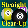 Straight Clear-Up (Pool/Billiards).