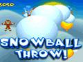 Lanza bolas de nieve