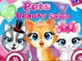 El salon de belleza de mascotas
