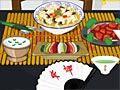 Decora la mesa de un restaurante chino