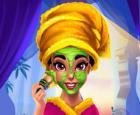 Cambio de imagen real de la princesa árabe