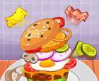 El mayor desafío de hamburguesas