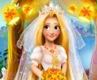 Rubia Princesa Boda Moda
