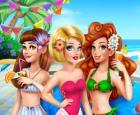 Diversión de moda de verano para niñas