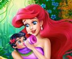 Sirena, alimentación del bebé